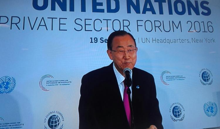 Secretario General de la ONU, Ban Ki-Moon