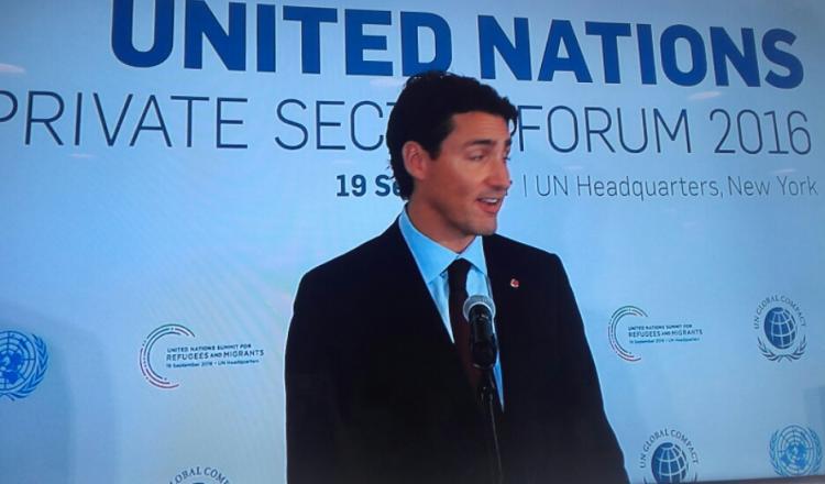 Primer Ministro de Canadá, Justin Trudeau