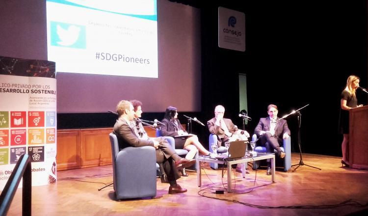 """Segundo Panel """"Los ODS en la agenda público y privada: los desafíos y oportunidades"""""""