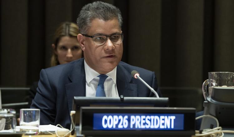 Alok Sharma, presidente COP26. Créditos UN Media