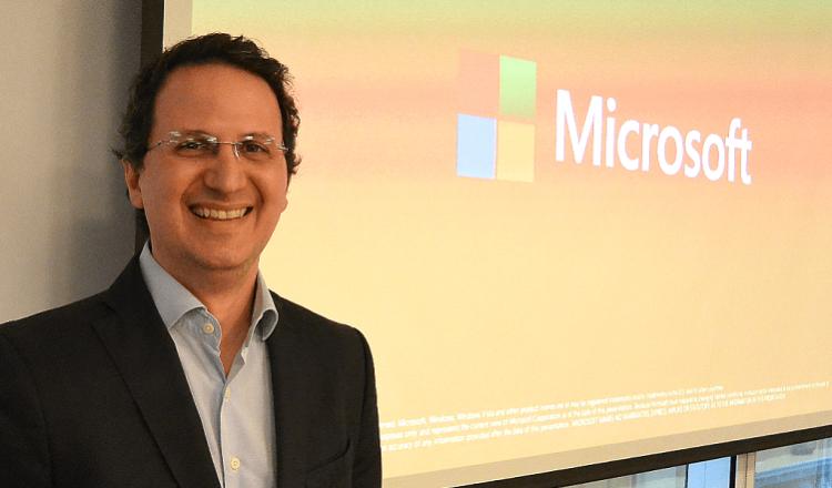 Jorge Cella, director de Tecnología y Filantropía de Microsoft Argentina y Uruguay