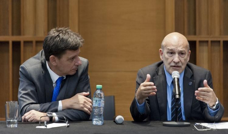 Alejandro Mentaberry y Mariano Lechardoy