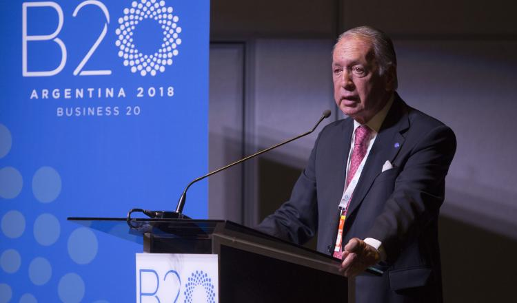 Daniel Funes de Rioja, Presidente del B20