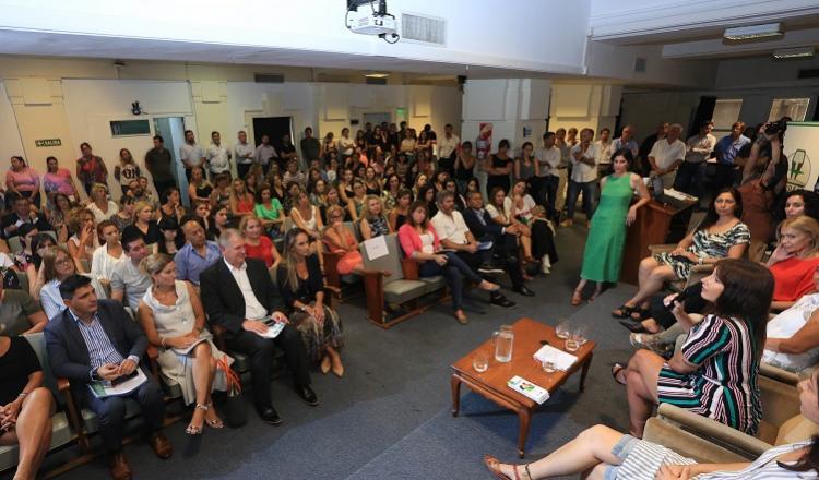 Encuentro de Mujeres, realizado en las oficinas de Trenes Argentinos Infraestructura y organizado por el sindicato APDFA.
