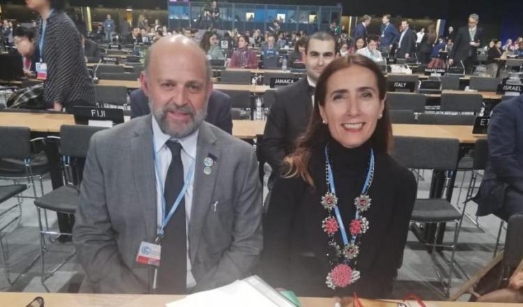 Los ministros de ambiente de Costa Rica y Chile, Co-Presidentes de la COP25