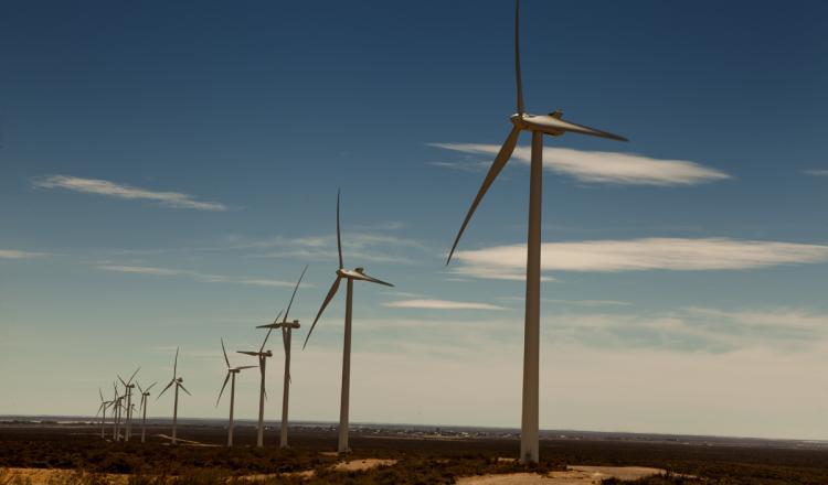 Parque Eólico Rawson, provincia de Chubut.