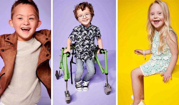 Ninos Con Discapacidad Seran Los Modelos De Campana De Moda De River - Ninos-modelos