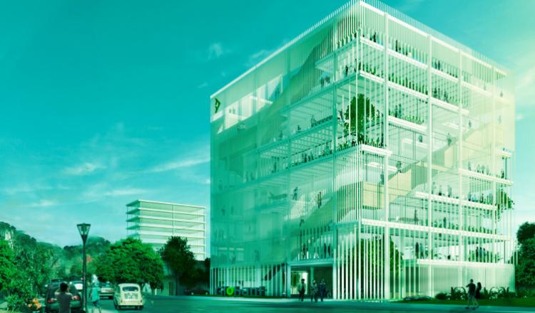 Edificio de Globant en Tandil