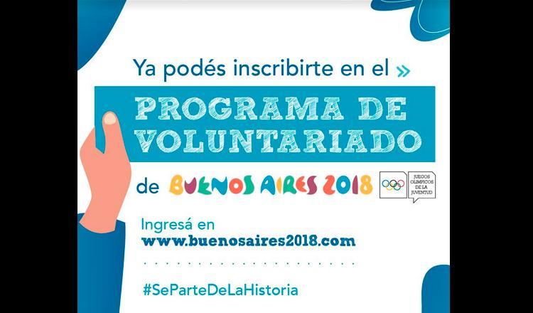 Convocan A Voluntarios Para Los Juegos Olimpicos De La Juventud